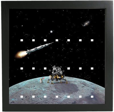 Moon Frame for Lego Space Minifigures