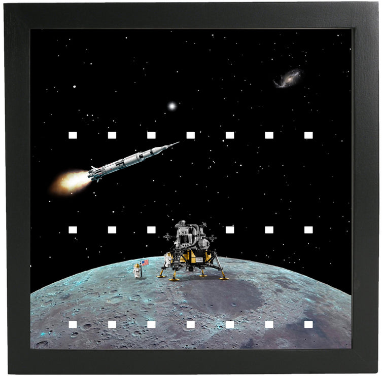 Lego Minifigures Display Frame Moon  Lego Space Minifigures