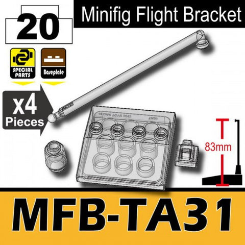 Minifig Flight Bracket MFB-TA31