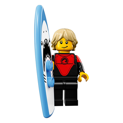 Professional Surfer – Series 17 Lego Minifigure