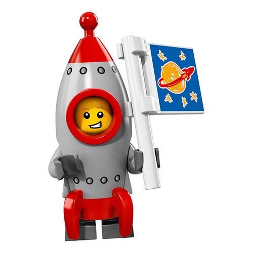 Rocket Boy – Series 17 Lego Minifigure