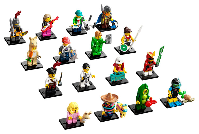 Series 20 Complete Collection 16 LEGO Minifigures 71027