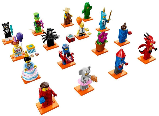 Series 18 Complete Collection 16 LEGO Minifigures 71021
