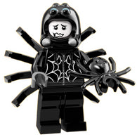 Spider Suit Boy – Series 18 Lego Minifigure