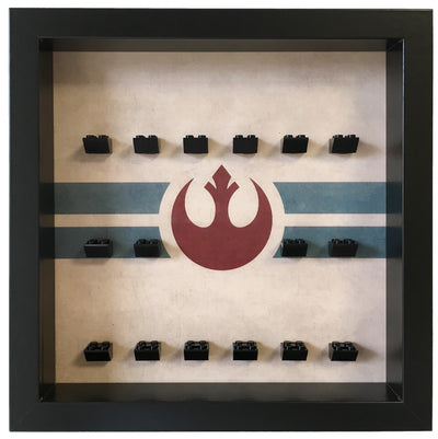 Rebel Alliance Frame for Lego® Star Wars Minifigures