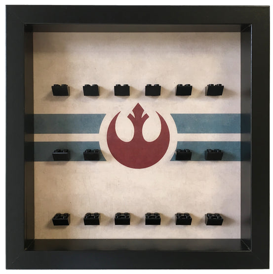 Lego Minifigures Display Frame Rebel Alliance  Lego Star Wars Mini...