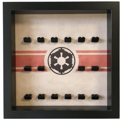 Galactic Empire Frame for Lego® Star Wars Minifigures
