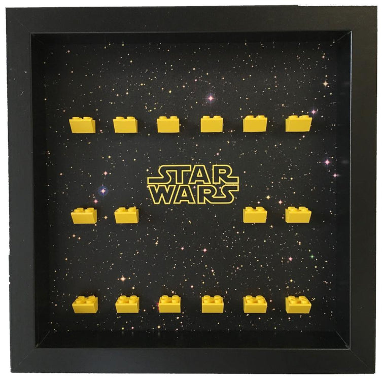 Lego Minifigures Display Frame  Lego Star Wars Minifigures