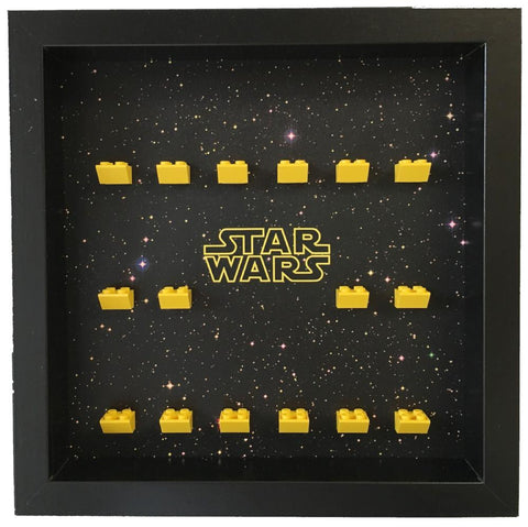 Lego Star Wars Minifigures frame