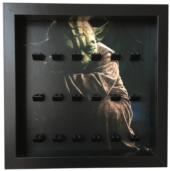 Lego Minifigures Display Frame Yoda  LEGO Star Wars Minifigures