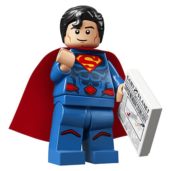 Superman – DC Super Heroes Lego Minifigure