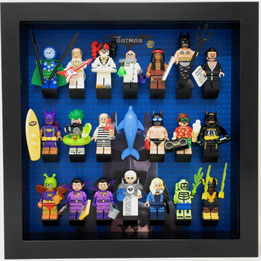 Frame For The Batman Movie Minifigures Series 2 Display Frames For Lego Minifigures