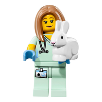 Veterinarian – Series 17 Lego Minifigure