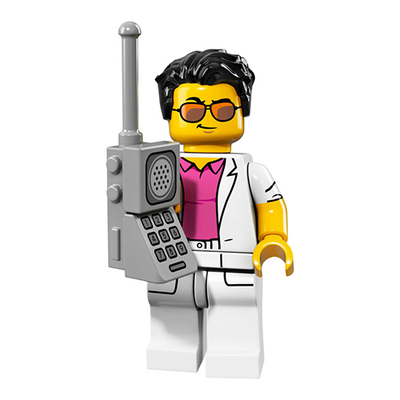 Yuppie – Series 17 Lego Minifigure