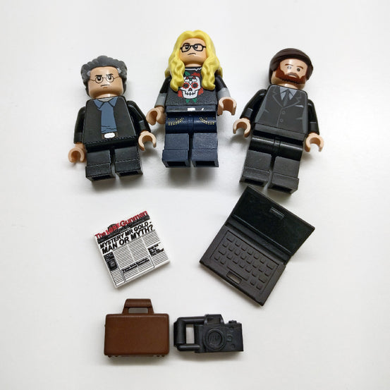 The X-Files The Lone Gunmen Lego Minifigures