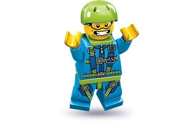 Skydiver – Series 10 Lego Minifigure