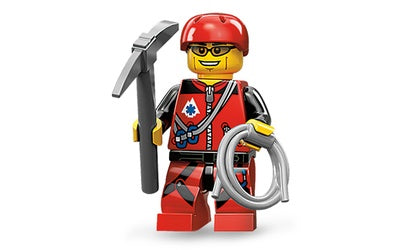 Mountain Climber – Series 11 Lego Minifigure