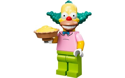 Krusty the Clown – The Simpsons Series 1 LEGO Minifigure