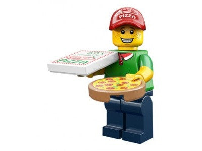 Pizza Delivery Man – Series 12 Lego Minifigure