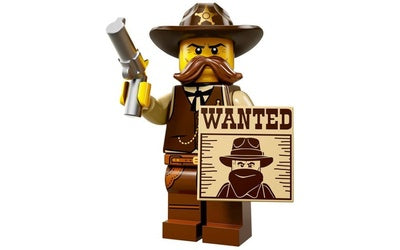 Sheriff – Series 13 Lego Minifigure