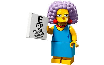 Selma – The Simpsons Series 2 LEGO Minifigure