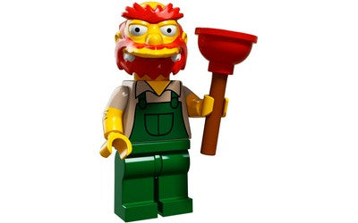 Groundskeeper Willie – The Simpsons Series 2 LEGO Minifigure