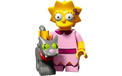 Lisa – The Simpsons Series 2 LEGO Minifigure
