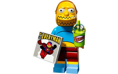 Comic Book Guy – The Simpsons Series 2 LEGO Minifigure