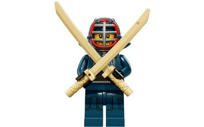Kendo Fighter – Series 15 Lego Minifigure