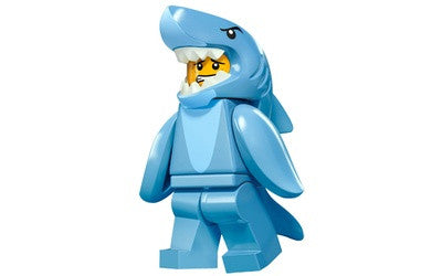 Shark Suit Guy – Series 15 Lego Minifigure