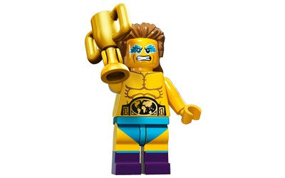 Wrestling Champion – Series 15 Lego Minifigure