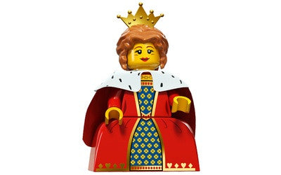Queen – Series 15 Lego Minifigure