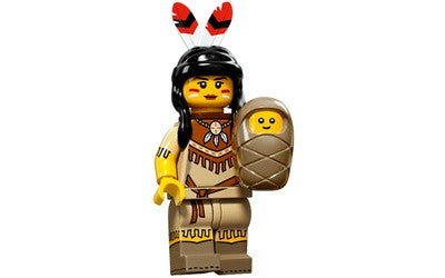 Tribal Woman – Series 15 Lego Minifigure