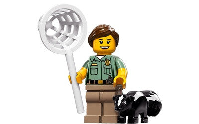 Animal Control Officer – Series 15 Lego Minifigure