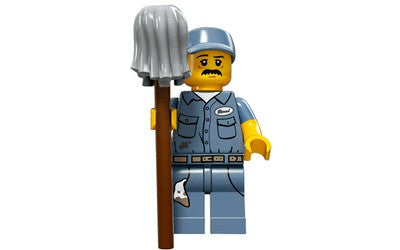 Janitor – Series 15 Lego Minifigure