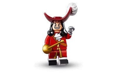 Captain Hook – Disney Series 1 LEGO Minifigures
