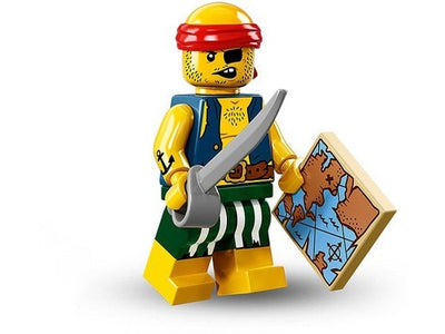 Scallywag Pirate – Series 16 Lego Minifigure