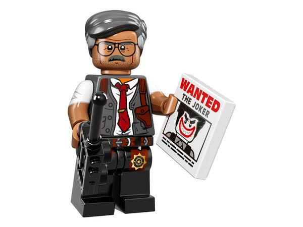 Commissioner Gordon – The LEGO Batman Movie Series Minifigures