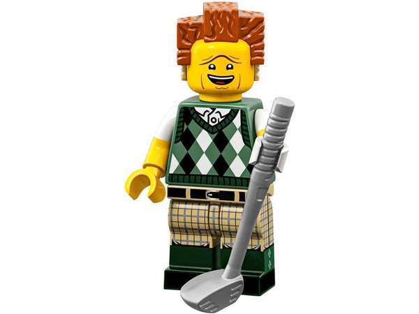Gone Golfin' President Business – LEGO Movie 2 Minifigure