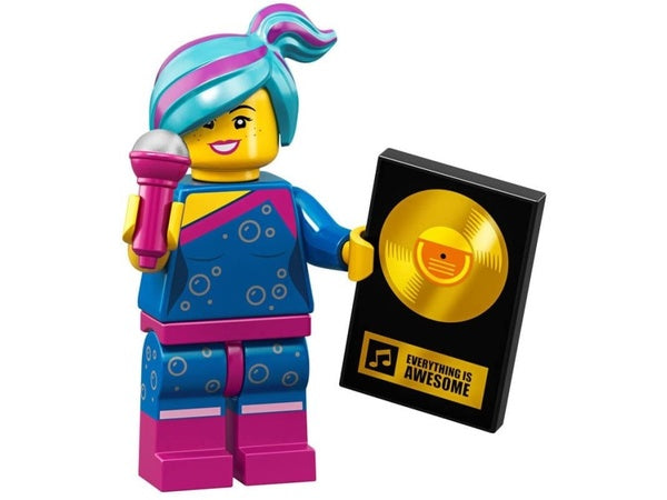 Flashback Lucy Lego Movie 2 Minifigure Display Frames For Lego Minifigures
