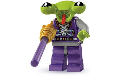 Space Alien – Series 3 Lego Minifigure