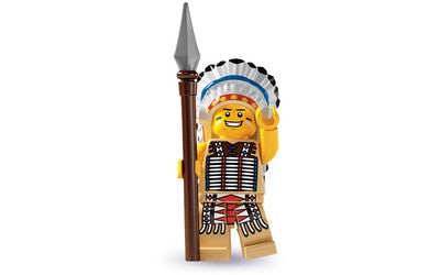 Tribal Chief – Series 3 Lego Minifigure