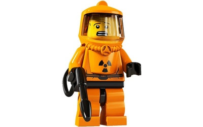 Hazmat Guy – Series 4 Lego Minifigure