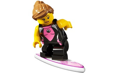 Surfer Girl – Series 4 Lego Minifigure