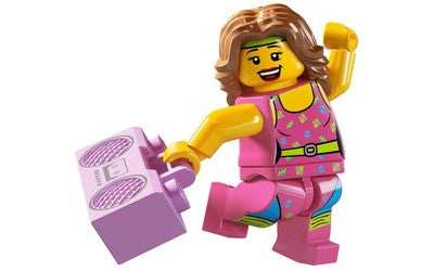 Fitness Instructor – Series 5 Lego Minifigure