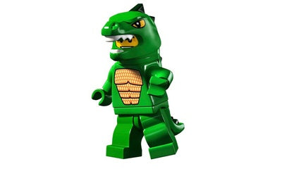 Lizard Man – Series 5 Lego Minifigure