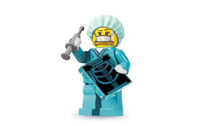 Surgeon Medic – Series 6 Lego Minifigure
