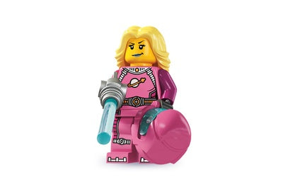Intergalactic Girl – Series 6 Lego Minifigure