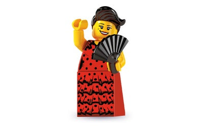 Flamenco Dancer – Series 6 Lego Minifigure