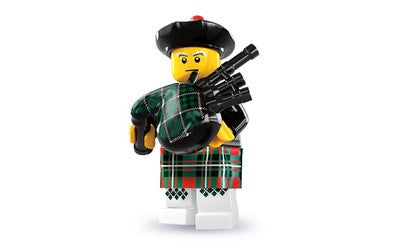 Bag piper – Series 7 Lego Minifigure